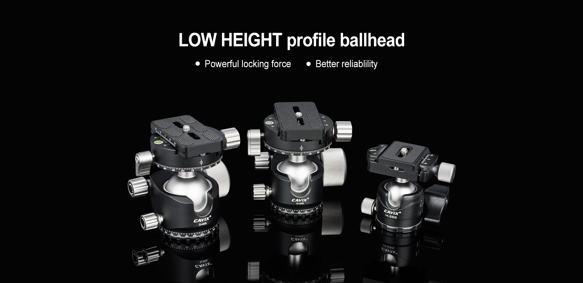 LOW HEIGHT PROFILE HEAD
